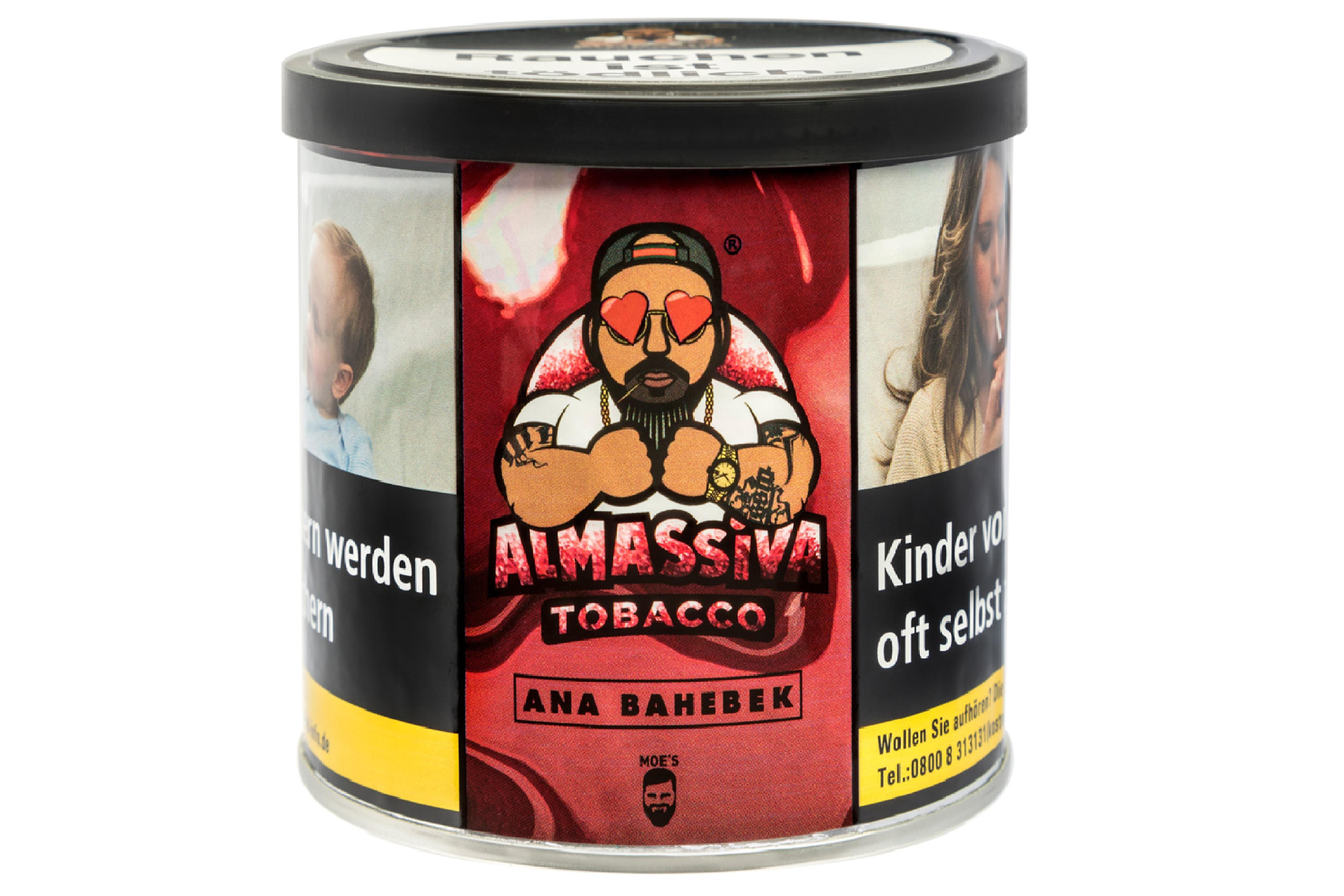 "ALMASSIVA ""ANA BAHEBEK"" SHISHA TABAK Liebes Apfel"