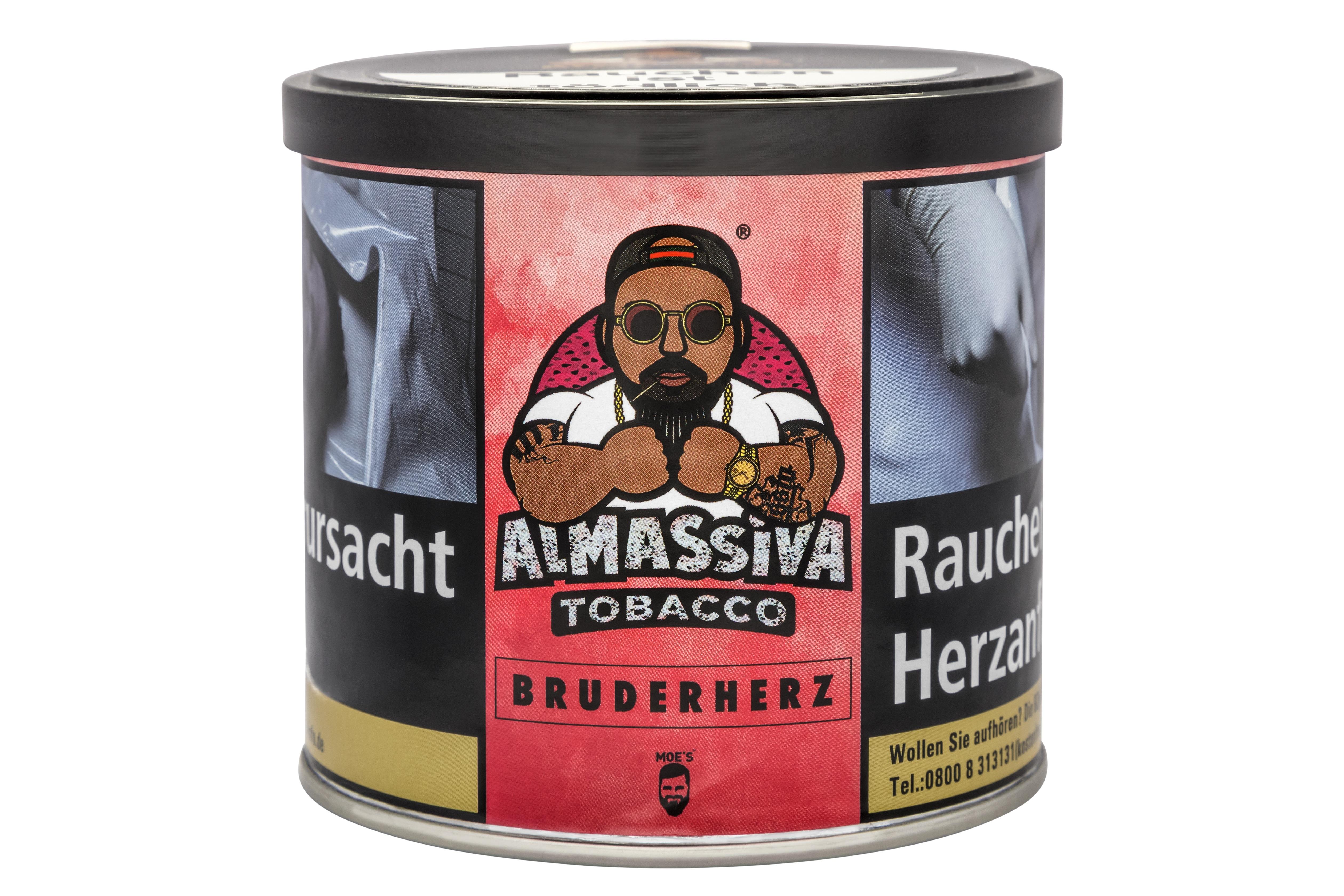 "ALMASSIVA ""BRUDERHERZ"" SHISHA TABAK DRACHENFRUCHT"